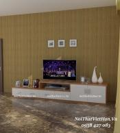 Kệ Tivi nhựa Đài Loan TV04 màu vân gỗ