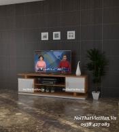 Kệ Tivi nhựa Đài Loan TV13 màu vân gỗ