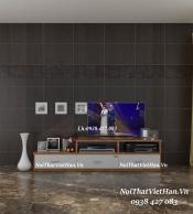 Kệ Tivi nhựa Đài Loan TV18 màu vân gỗ