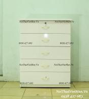 Tủ nhựa Đài Loan 5 tầng T14 màu trắng