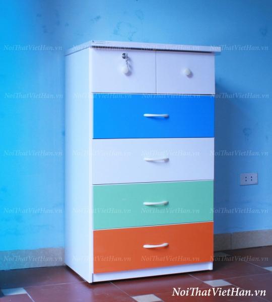 Tủ nhựa Đài Loan 5 tầng 6 ngăn T15 nhiều màu