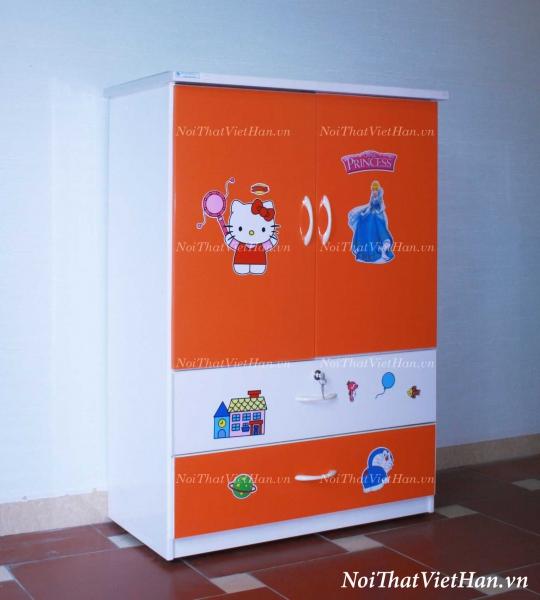 Tủ nhựa Đài Loan 2 cánh 2 ngăn C20, mã T208