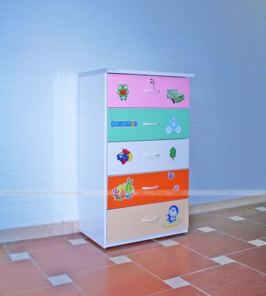 Tủ nhựa Đài Loan 5 tầng T13 nhiều màu