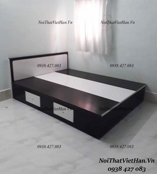 Giường màu đen trắng G27