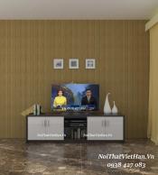 Kệ Tivi nhựa Đài Loan TV05 màu vân gỗ tối