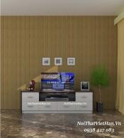 Kệ Tivi nhựa Đài Loan TV08 màu vân gỗ tối