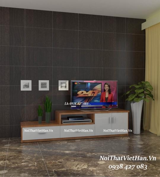 Kệ Tivi nhựa Đài Loan TV14 màu vân gỗ