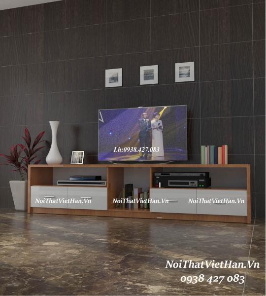Kệ Tivi nhựa Đài Loan TV16 màu vân gỗ